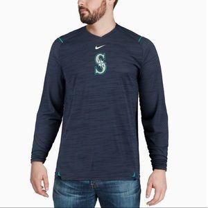Like New Nike Navy Seattle Mariners AC Long Sleeve